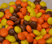 Mini Reeses Pieces