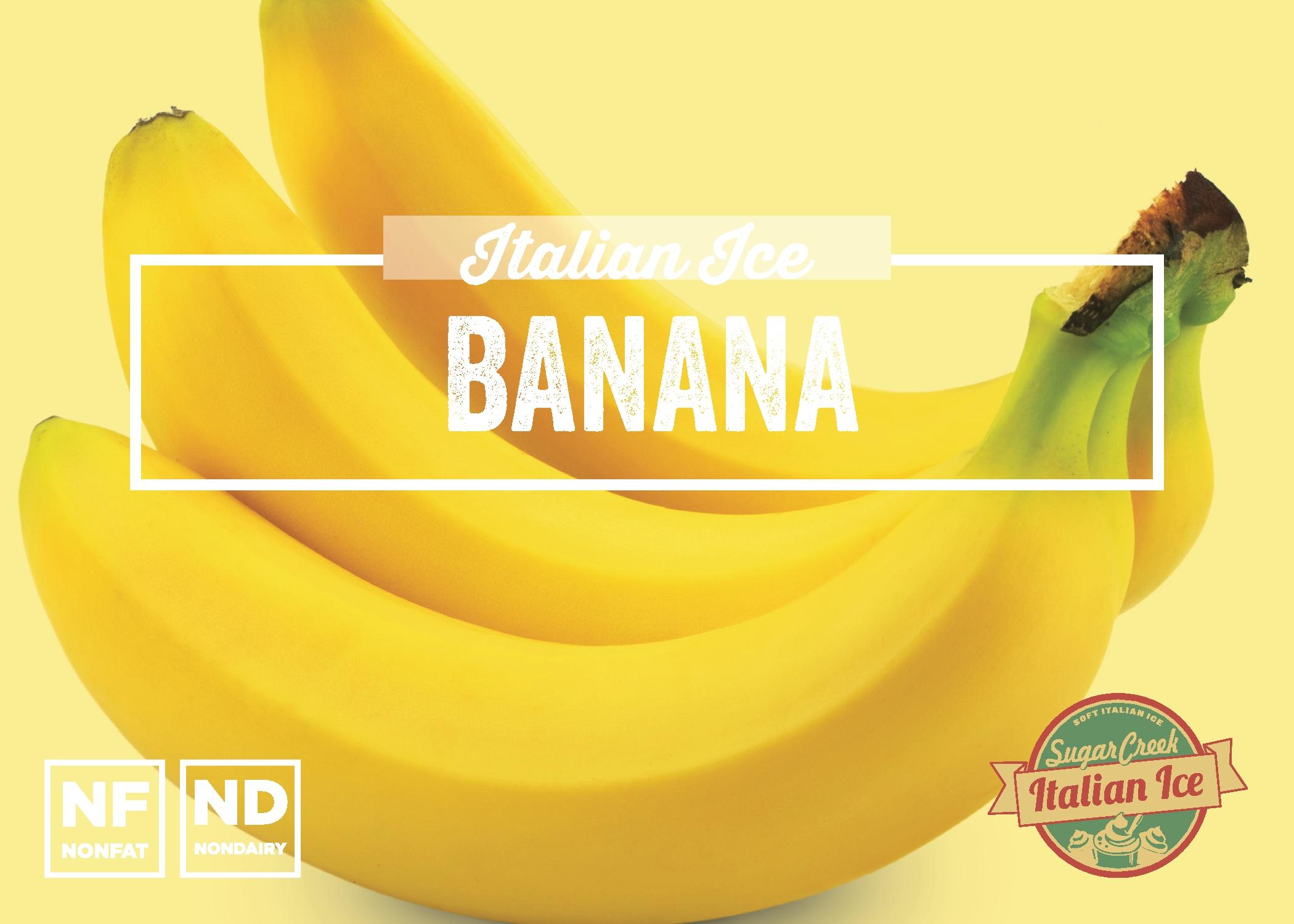 Banana Italian Ice
