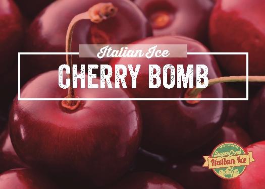 Cherry Bomb Italian Ice