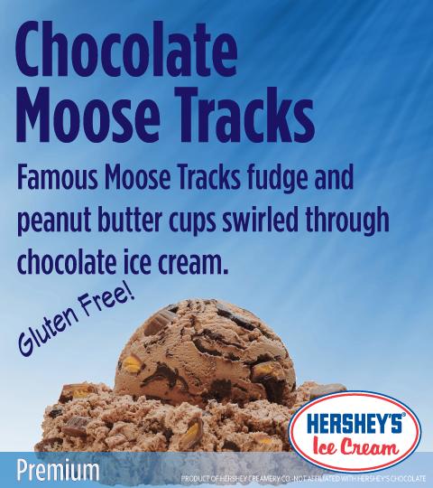 Chocolate Moose Tracks