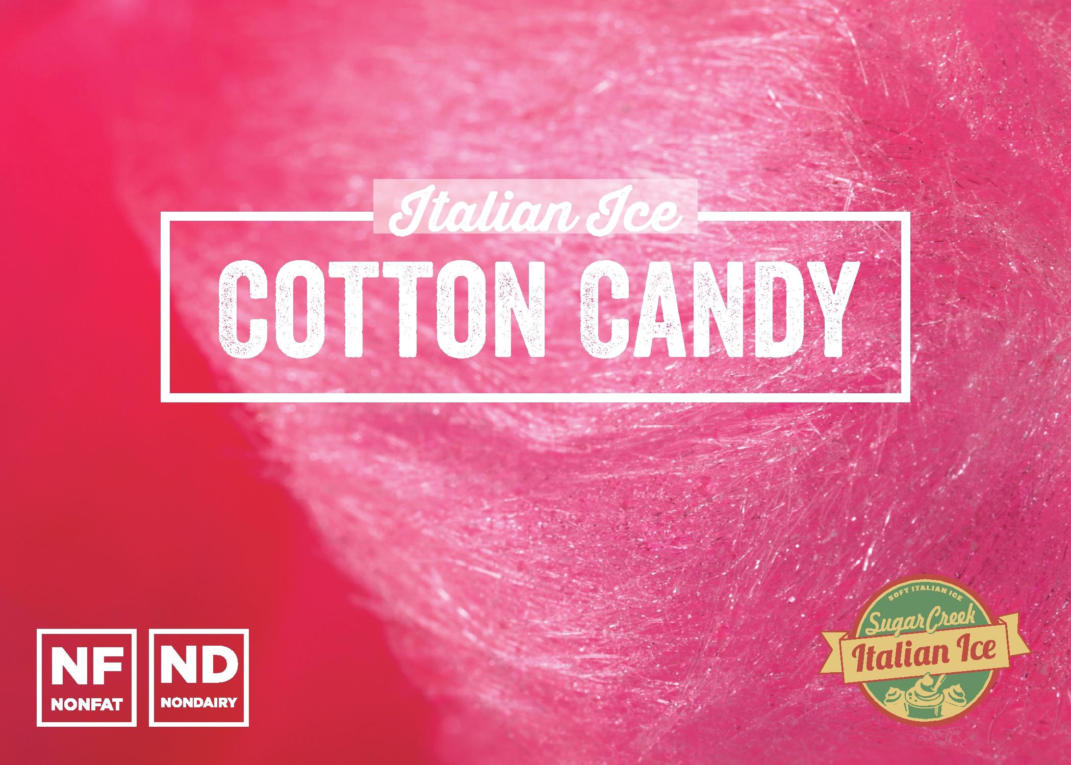 Cotton Candy Italian Ice