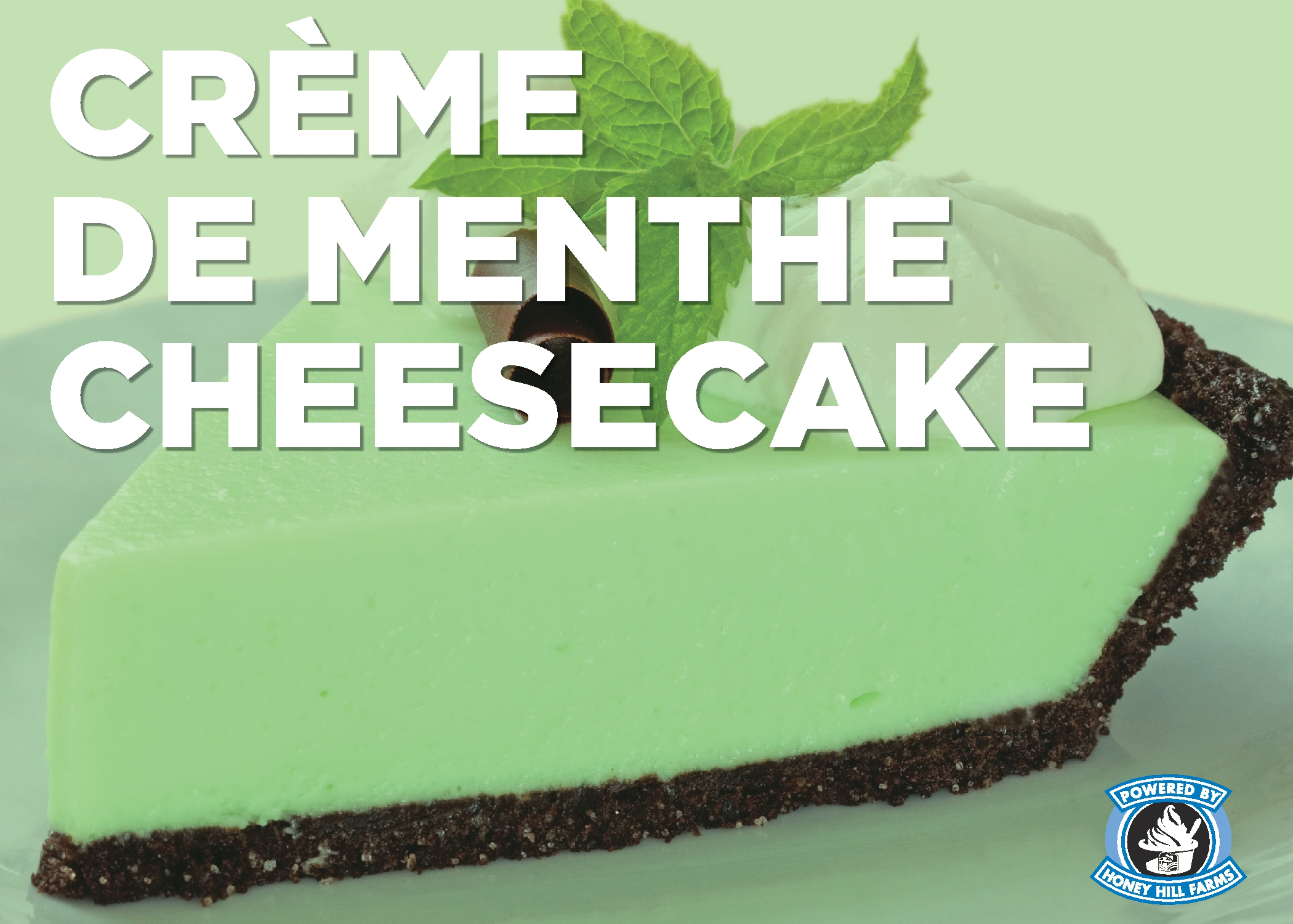 Creme De Menthe Cheesecake