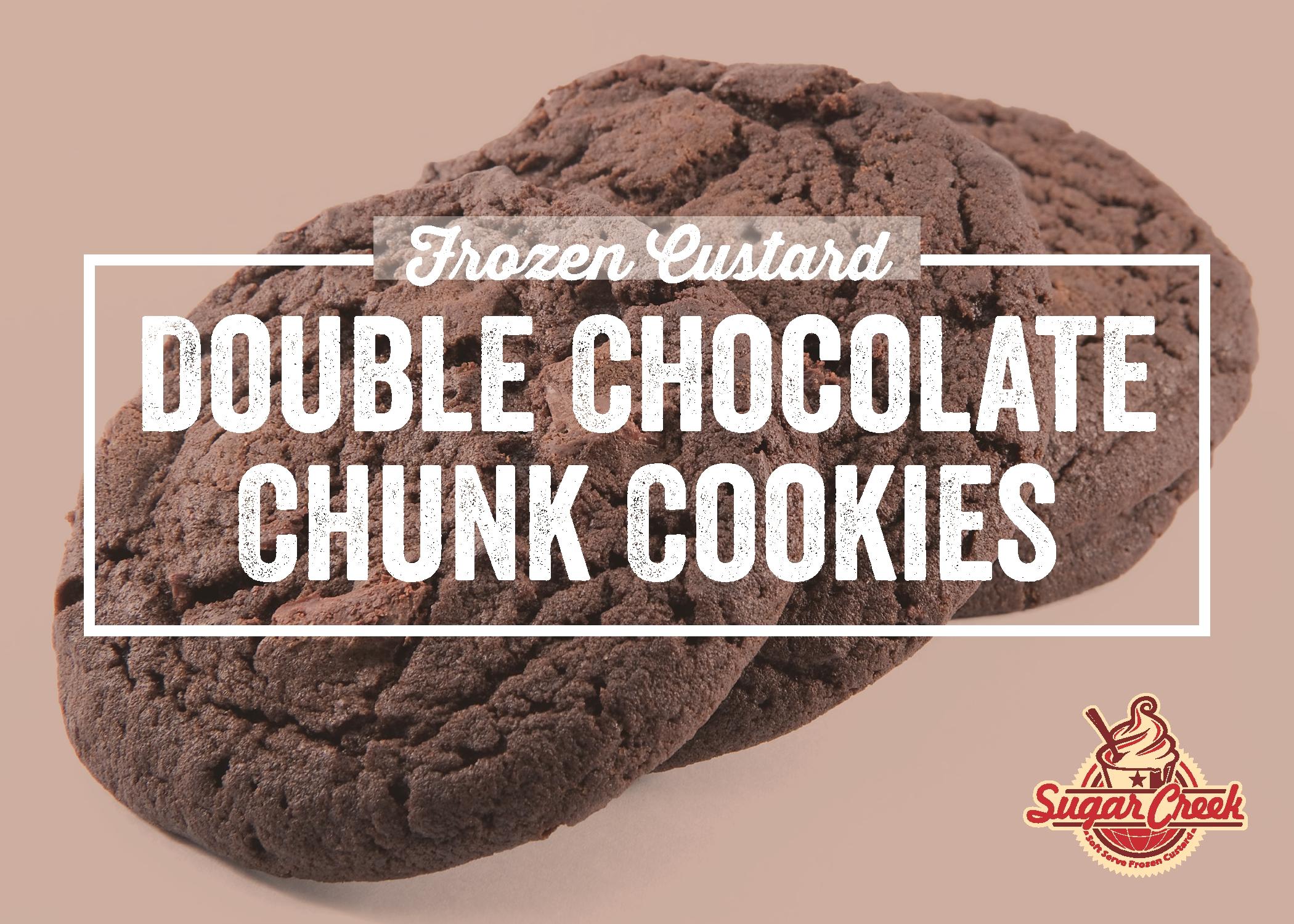 Double Chocolate Chunk Cookies Recipe — Dishmaps