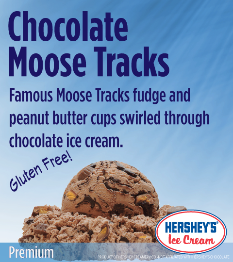 Chocolate Moose Tracks