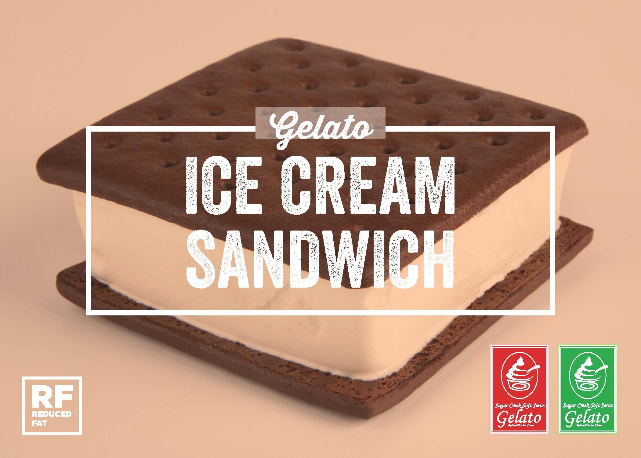 Ice Cream Sandwich Gelato