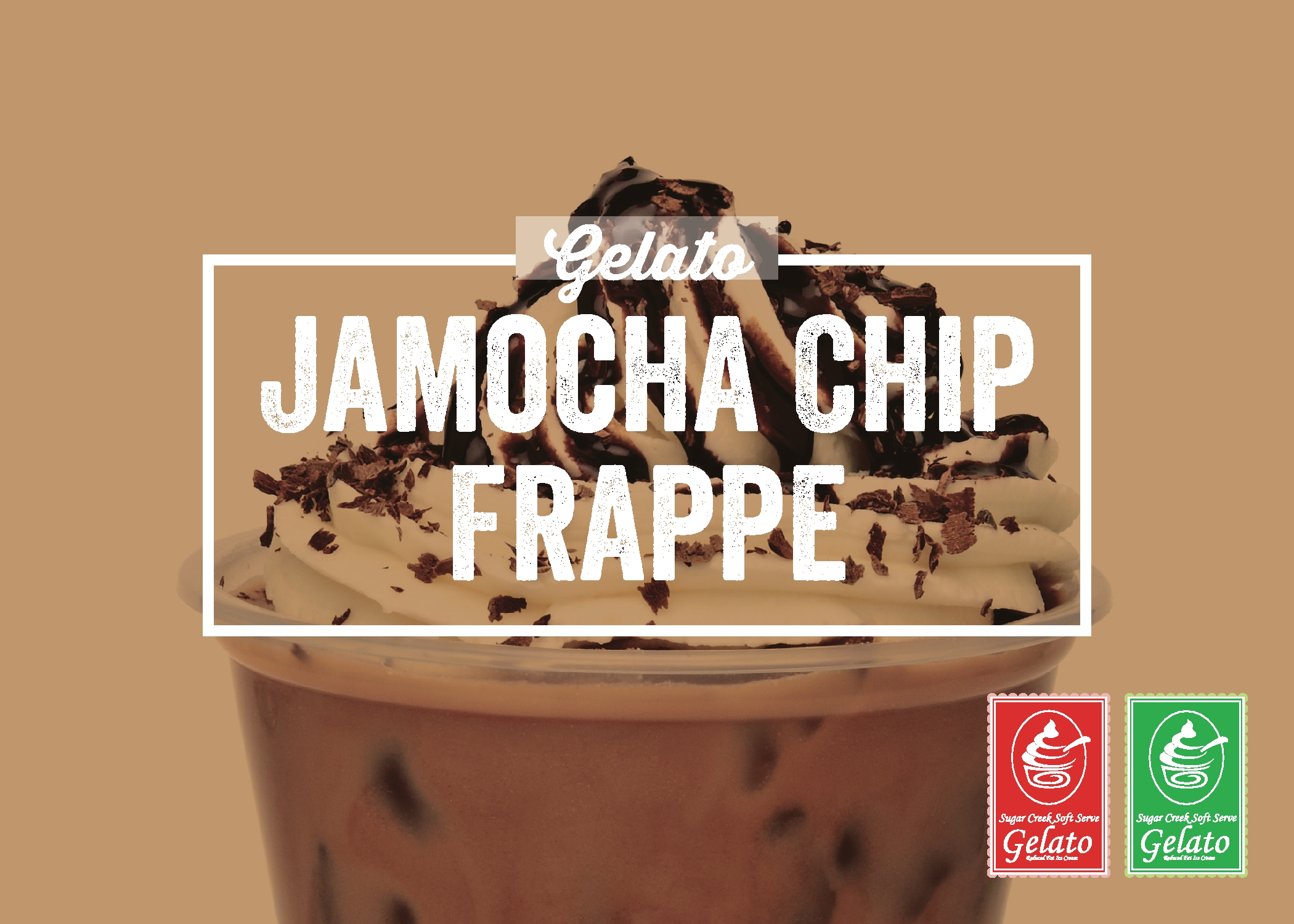 Jamocha Chip Frappe Gelato