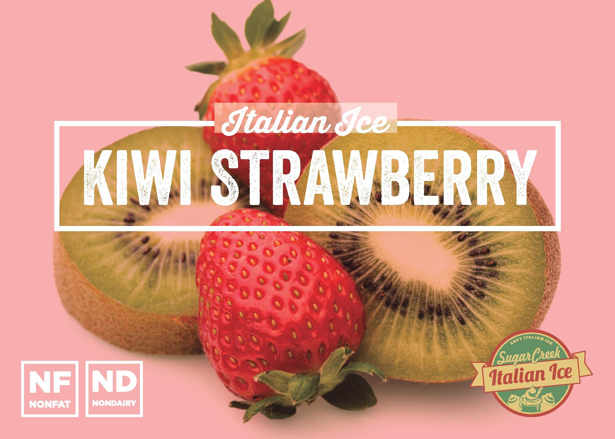 Kiwi Strawberry Italian Ice