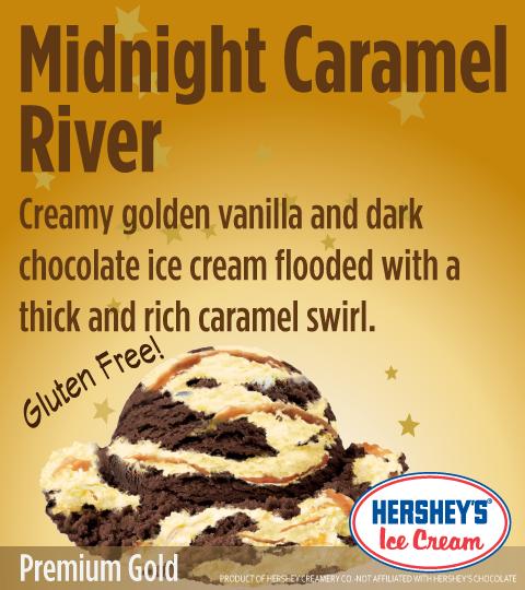 Midnight Caramel River