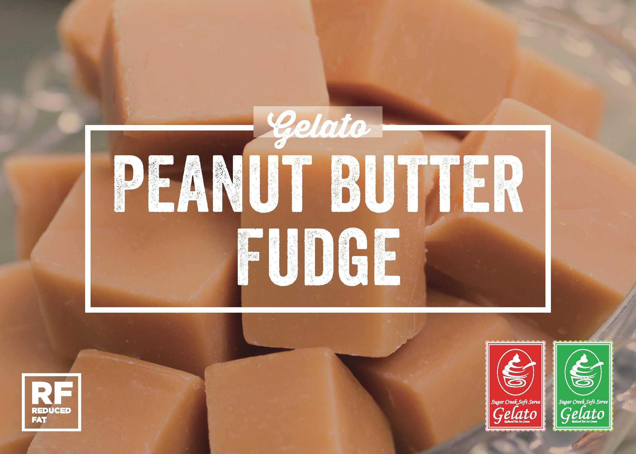 Peanut Butter Fudge Gelato