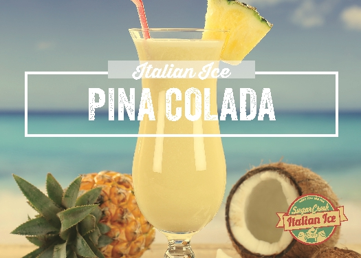 Pina Colada Italian Ice