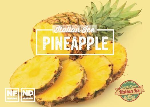 Pineapple Italian Ice