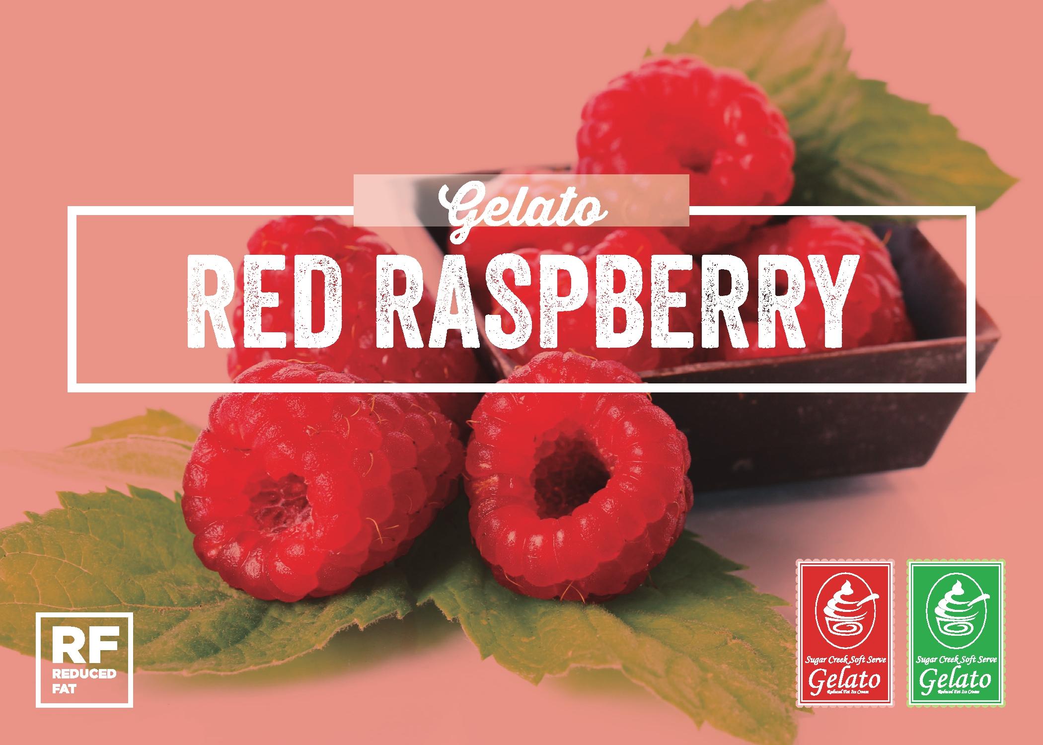 Red Raspberry Gelato