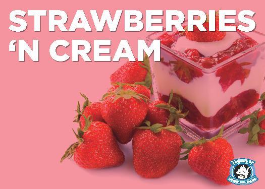 Strawberries 'n Cream