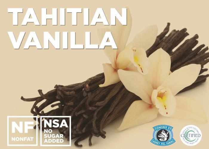 Tahitian Vanilla (No Sugar Added)