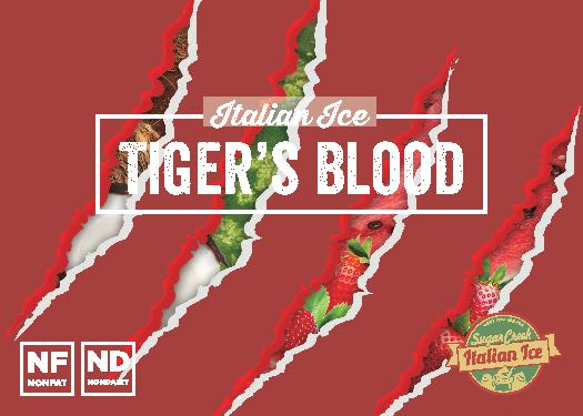 Tigers Blood Italian ice