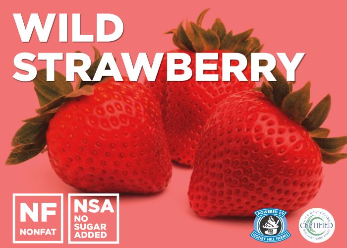 Wild Strawberry (No Sugar Added)